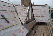 tec build glenmayne roof